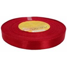 Atlasa lenta, spilgti sarkana,12 mm x 32 m