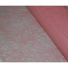 Celofāns, ar rozā tīklojumu 70 cm x 50 cm