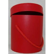 Cepuru kaste dzīvajiem ziediem, sarkana