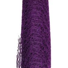 Mežģīņu siets, violets 9 m x 50 cm