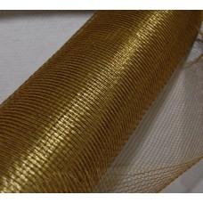Dekoratīvais siets, zeltīts, 50 cm x 9 m