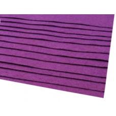 Filca loksne, violeta, 30 cm x 22 cm