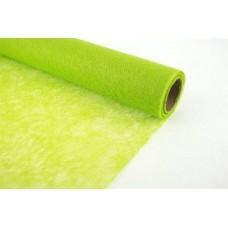 Dekoratīvais flizelīns rullī, gaiši zaļš, 50 cm x 9 m