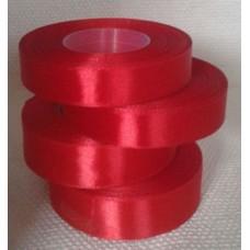 Atlasa lenta, sarkana, 25 mm x 32 m